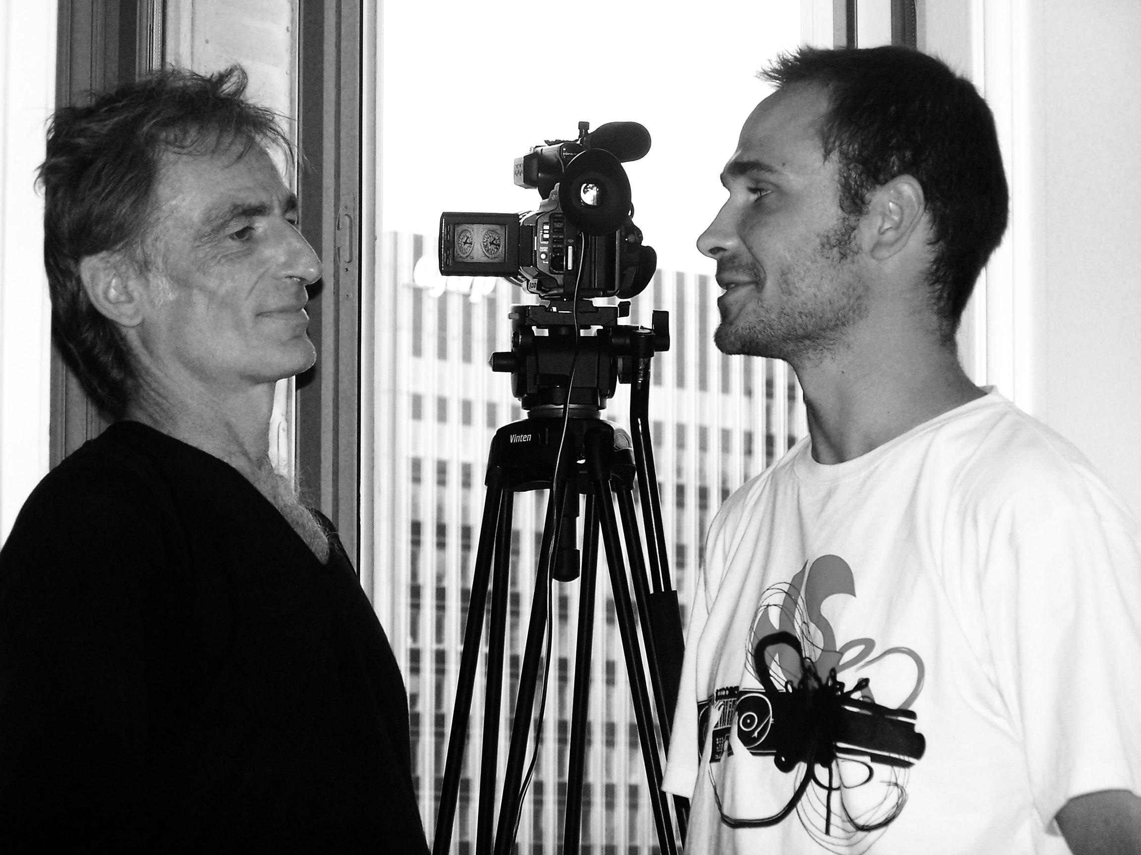 Pendant le tournage