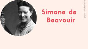 Simone de Beauvoir #GrandesMulheres