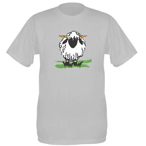 Valais Ewe T-Shirt light grey