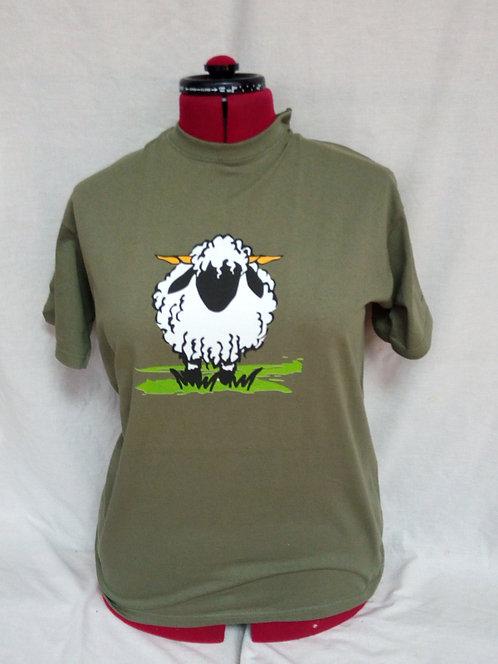 Valais Ewe T-shirt Olive