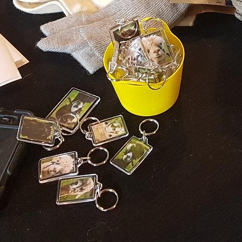 Alpaca key Rings