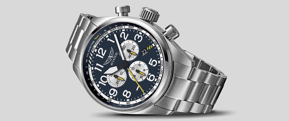 AVIATOR-WATCH--AIRACOBRA-P45-CHRONO--V.2