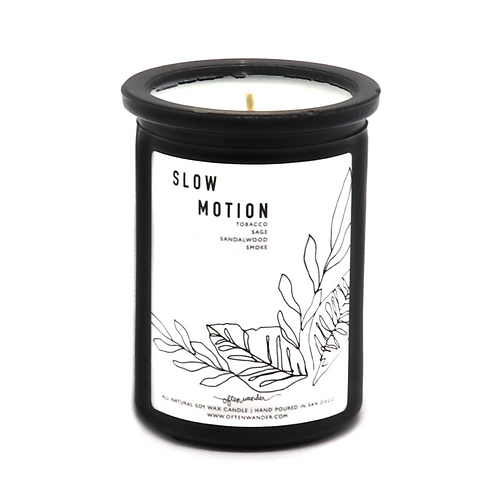 Slow Motion Candle