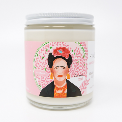 Frida Sandalwood and Vanilla Candle