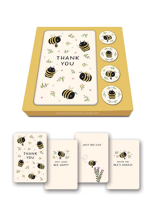 Note Card Boxed Sets with Stickers