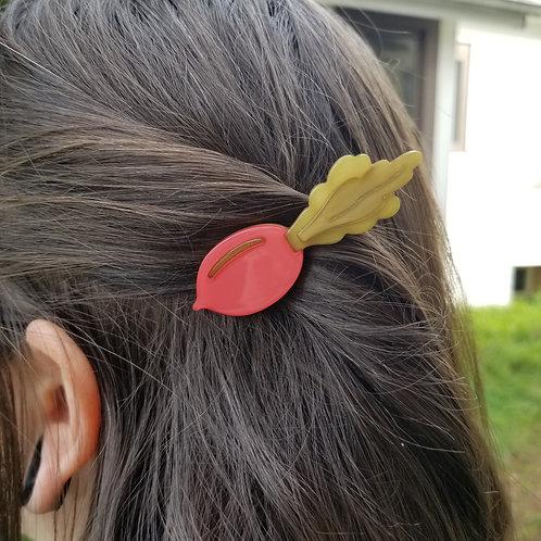 Beet Hair Clip
