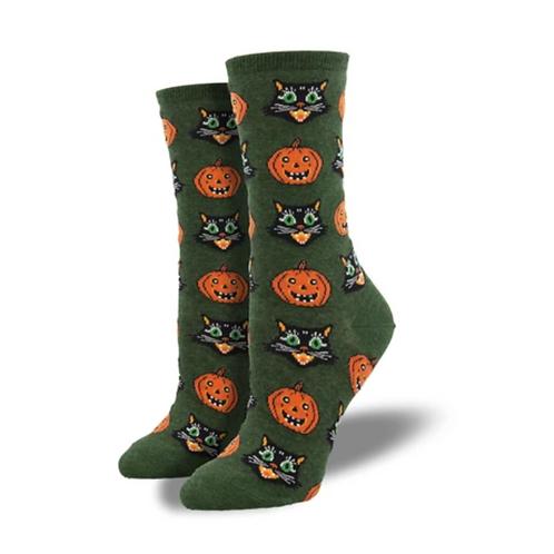 """Vintage Halloween"" Women's Socks"