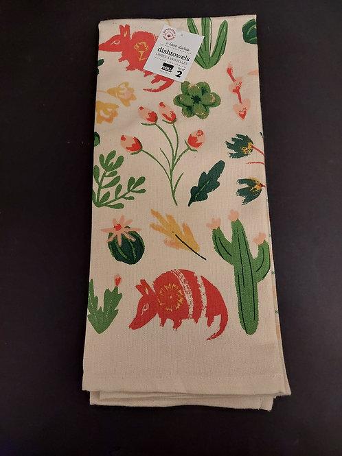 Armadillo Dish Towels