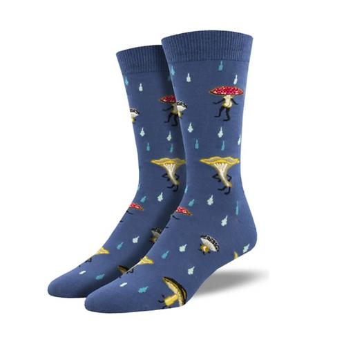 "Bamboo ""Fungi"" Men's Socks"
