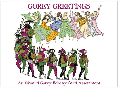 Gorey Greeting Cards Boxed