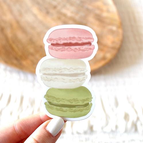 Macaron Sticker