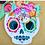 Thumbnail: Sugar Skull Dessert Plates