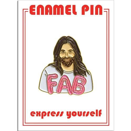 JVN Fab Enamel Pin