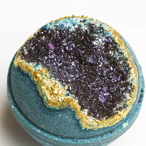 Geode Bath Bomb: Obsidian