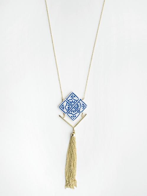 Mallorca Tile Necklace