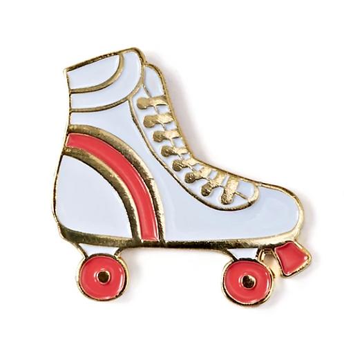 Rollerskate Enamel Pin