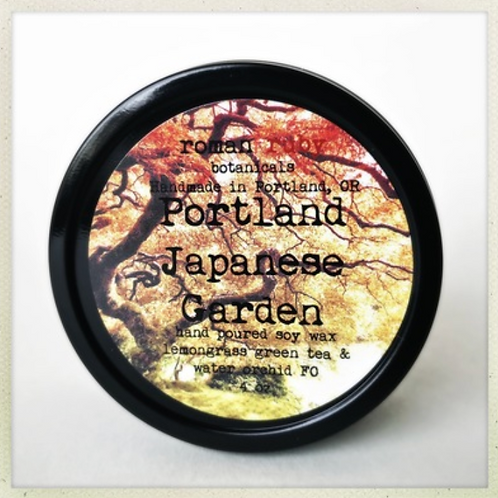 Japanese Garden Soy Candle