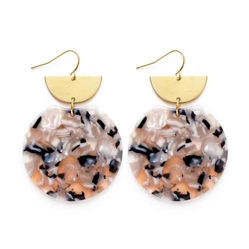 Pollock Earrings Lavender Mist