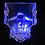 Thumbnail: Sugar Skull Light Up Shot Glass