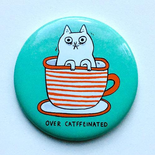 Cat in Cup Magnet