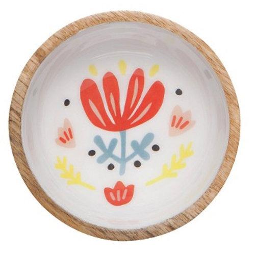 Frida Mini Mango Wood Bowl