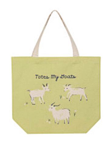 "Tote Bag - ""Totes My Goats"""