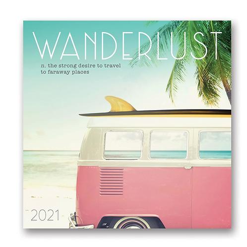 Wanderlust 2021 Calendar