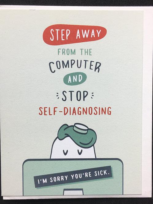 Computer Get Well Card