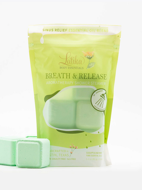 Shower Steamers: Breathe and Release
