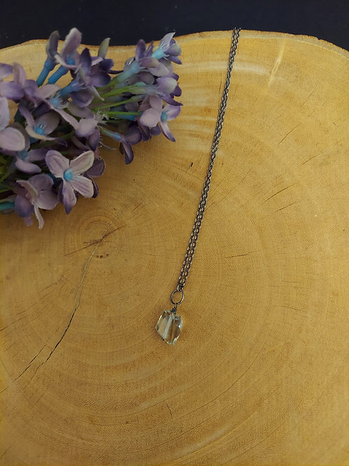 Green Amethyst Necklace