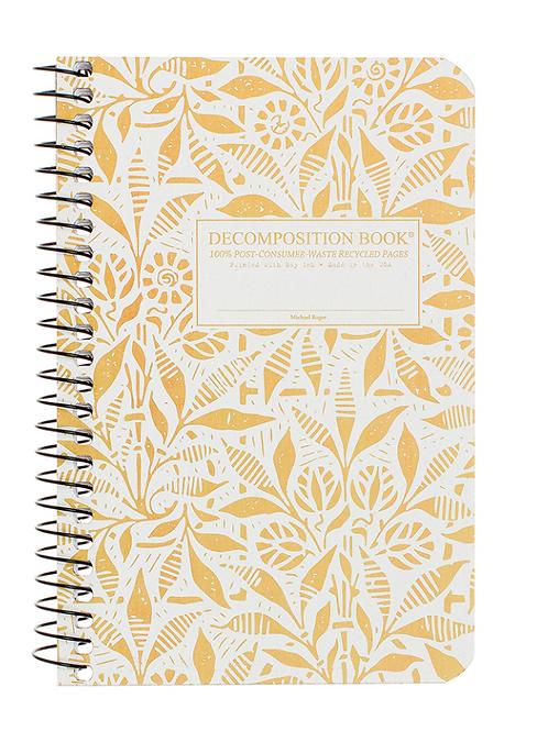 Pocket Spiral Decomposition Notebook