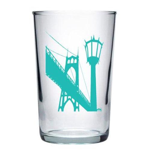 St. Johns Bridge Euro Wine Glass