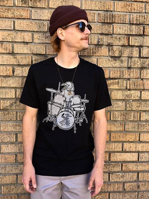 Salty Raven - Silver Drummer