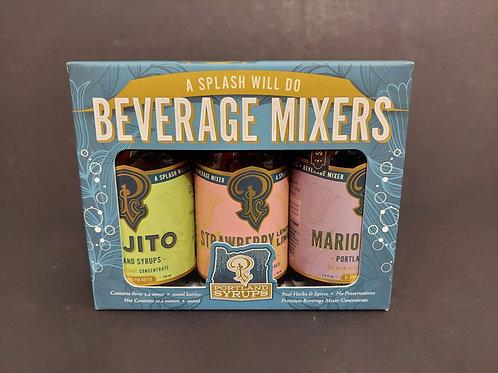 Beverage Mixers: Mojito/Strawberry/MarionBerry