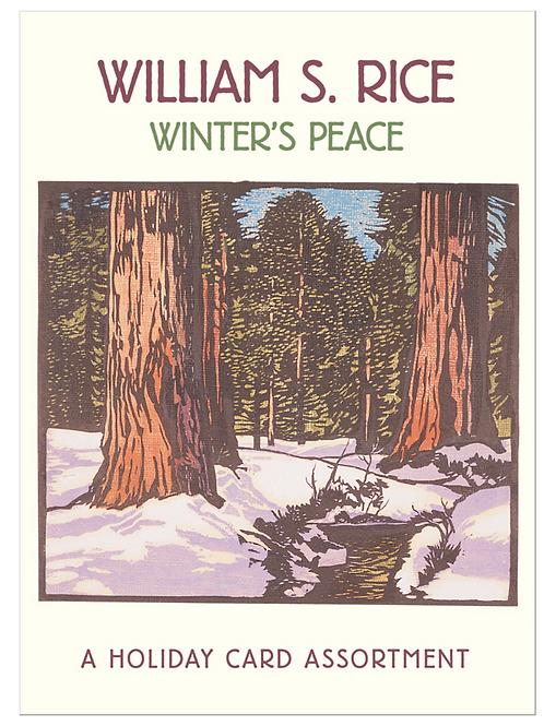 William S Rice Cards Box