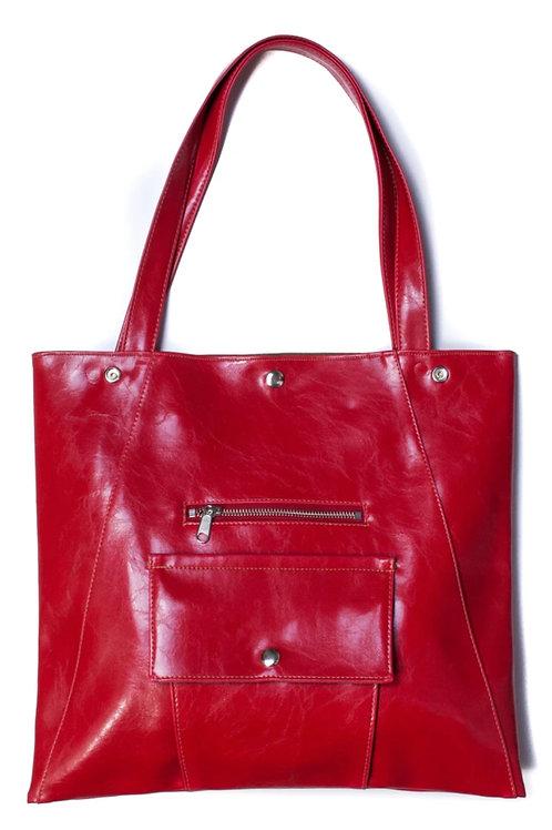 Crystalyn Kae Tote Bag / Purse - Cherry Red