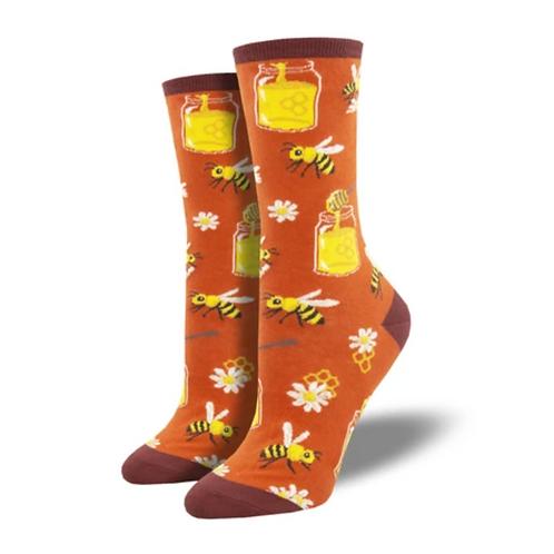 """Bee My Honey"" Women's Socks"