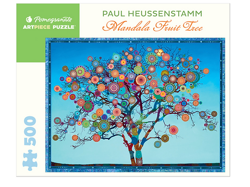 Mandala Fruit Tree 500 pc Puzzle