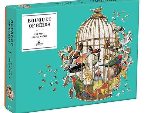 Bouquet Of Birds 750pc Puzzle
