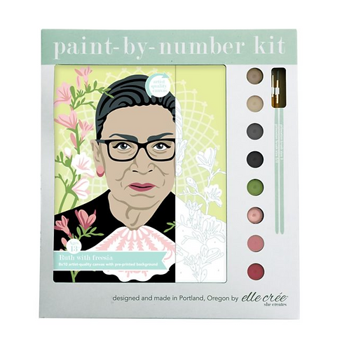 Ruth Paint-By-Numbers