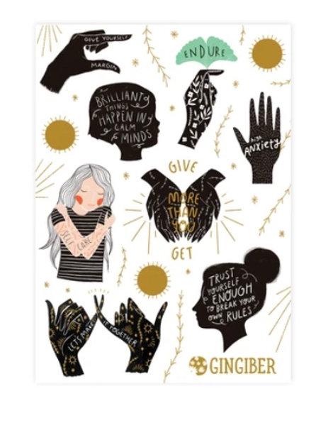 Encouragement Sticker Sheet
