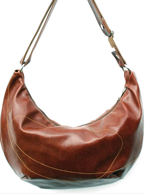 Crystalyn Kae Large Vegan Bag / Purse - Ale Brown