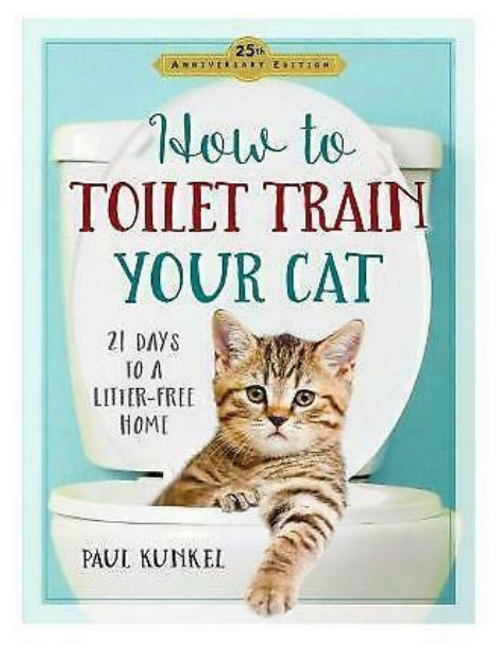 How To Toilet Train Your Cat Book