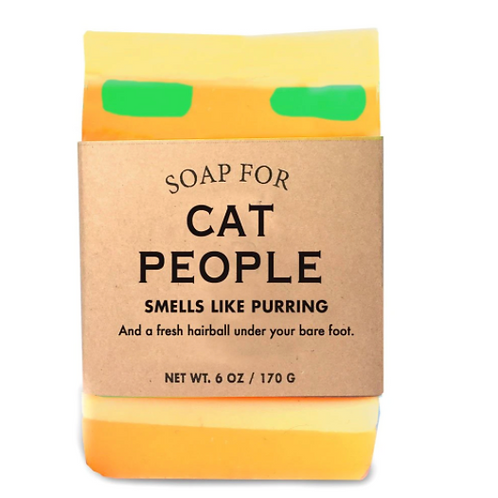 """Soap For """"Cat People"""""""