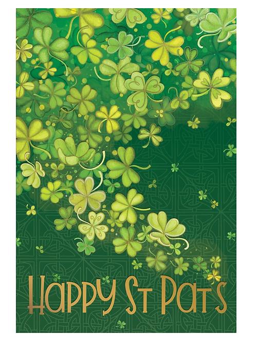 Shamrock Shower Patty's Day Card
