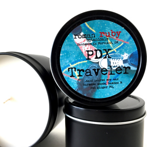 PDX Traveler Soy Candle