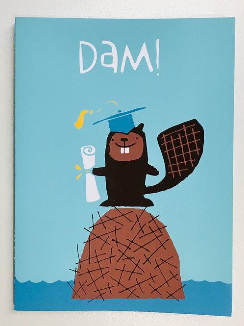 Graduation Card - Beaver