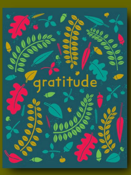 Gratitude Thank You Card