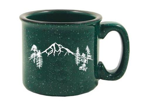 Mt Hood Forest Campfire Mug