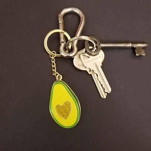 Avocado Love Keychain
